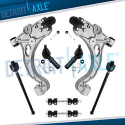 8pc Complete Front Lower Control Arm Set And Suspension Kit - Buick Lesabre