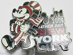 Disney Wod Nyc 4th Of July New York City Mickey Mouse Pin