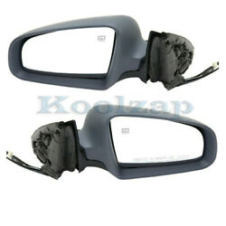 02-08 Audi A4 And 04-08 S4 Rear View Door Mirror Power Heated W/o Memory Pair Set