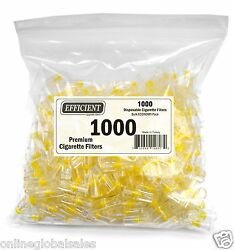 Efficient Bulk Cigarette Filter Tips Block Filter Out Tar And Nic 1000 Filters