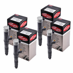 Set Of 4 Delphi Ignition Coil Ce20014 For Renault Nissan Kangoo Express 01-10