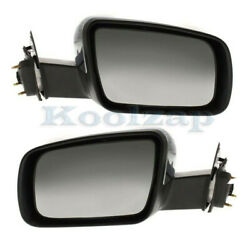 05-07 500 Power Heat Memory W/puddle Lamp Chrome Mirror Left Right Side Set Pair