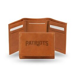New England Patriots - Nfl Embossed Trifold Wallet
