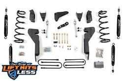 Zone Offroad D37n/d38n/d39n 6 Lift Kit For 2009-2012 Dodge Ram 3500 4x4 M/usa