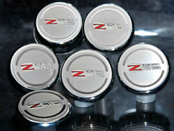 2006-2013 Corvette Z06 Ls7 Chrome And Stainless Engine Fluid Cap Covers 6pc Set