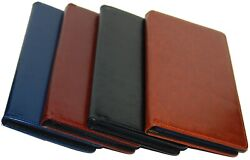 PU Leather 100 Cards Business ID Credit Card Holder Book Case Keeper Organizer $11.99