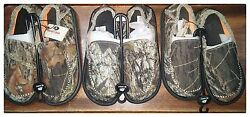 DOUBLE BARREL Men#x27;s MOSSY OAK Camo Canvas Camouflage Frayed Shoes 57926222 NWT $24.99