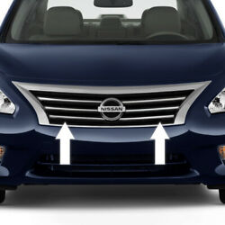 Chrome Grille Grill Trim For Nissan Altima 13 14 15 16 17 18