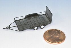 N Scale 8' X 16' Utility Trailer One Trailer Kit By Showcase Miniatures 531