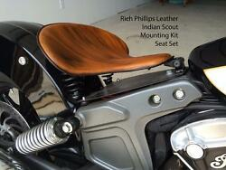 Rich Phillips Leather Indian Scout Spring Solo Seat Mounting Hardware Kit 2015