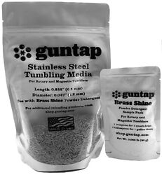 2 Pounds Stainless Steel Tumbling Media Pins 2lb .047 X .255 Made In Usa