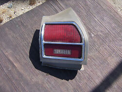 Will Ship Read Ad 1969 Chevelle Pass. Side Tail Light Taillight Extension Orig.