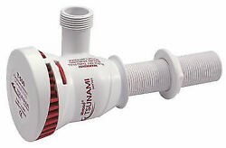 Attwood 4640-7 500 Gph Aerator Pump For Bass And Fishing Boat Baitwell/livewell