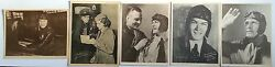Air Adventures Of Jimmie Allen Radio Show 1935 Photo Set - Rare - Qty Of 5