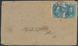 Csa 4 Pair On Cover Going To Athens, Ga Cv 450 Bs2046