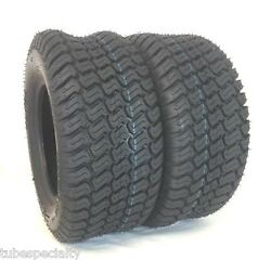 Two 23x10.50-12 Lawn Tractor Turf Lawn 23x1050-12 4 Ply Rated Lawn Mower Tires