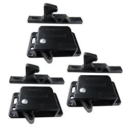 3-pack Of Southco 10 Pound Black Grabber Catch Latches For Rv/motorhome Cabinets