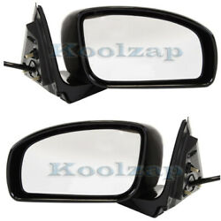 07-08 G35 Sedan Rear View Mirror Power With Sport And W/o Premium Package Pair Set