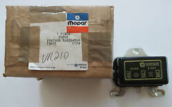 N.o.s. Mopar Voltage Regulator P/nand039s F0502 And 73691 And 1179 And 150312 N.o.s.