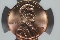 2009 Lincoln Cent Penny Professional Life First Day Ceremony Ngc Ms68 Rare Ms 68