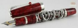 Montegrappa Limited Edition Oriental Zodiac 2013 Year Of Snake Fountain Pen