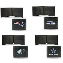Nfl Team Embroidered Bi-fold Wallet New ∗ Pick Your Team ∗
