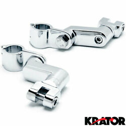 Engine Guard Peg Clamps For Harley-davidson Roadking Classic Inj Motorcycle