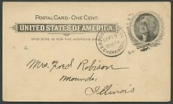 Ux14 Scarce And Superb Expo Omaha Ne Trans-miss Advt Card 9/19/1898 Bs1329