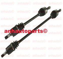 Set Of 2 Cv Axle Shafts Left And Right For Civic 1.8l Auto Transmission 06-11