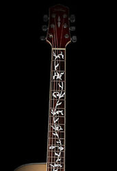 Guitar Inlay Stickers Life Tree Decals