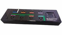 Monster Power Hdp 850g Greenpower Surge Protector - 8 Outlets - 2160 Joules
