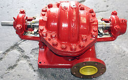 Fairbanks Morse 5972 500 Gpm 280and039 Hd 2 Stage Horizontal Centrifugal Water Pump