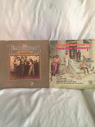 The Temptations-house Party And Puzzle People Vinyl 33rpm Lps Vintage 1969/75