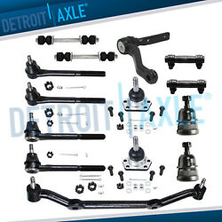 New 14pc Complete Front Suspension Kit For Chevy Gmc Truck S10 Blazer - 2wd