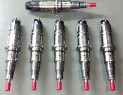 Njd Injectors Set Of 6 Fits 2007 -12 Dodge Cummins 6.7 Injector Cab And Chassis