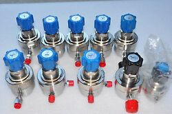 1 Lot Of 10 Veriflo Regulator , 2 New , Very Clean Condition .see Detail