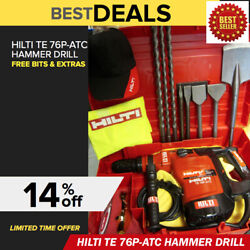 Hilti Te 76-p Atc Hammer Drillexcellent Free Bits And Chiselsmade In Germany