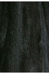 Fur Inner Lining Made From Recycled Mink Black