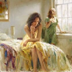 Vidan Pino Afternoon Light Embellished S/nw/coa 3000r Auction Special