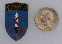 Wartime Ii Corp Mike Force Beer Can Crest Di Special Forces