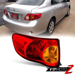 For 09-10 Toyota Corolla Factory Style Outer Left Driver Side Corner Tail Light