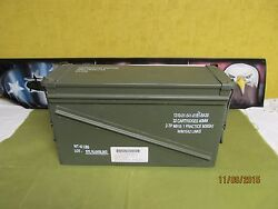 Military Surplus 40mm Pa-120 Large Ammo Can Box 100 Steel Excellent 1 Each