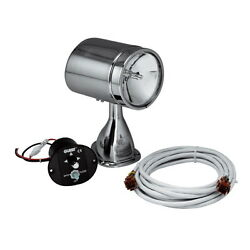 Stainless Steel 72000 Candlepower Remote Control Spot And Flood Search Light