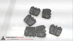 Siemens 3sb3400-0a - Pack Of 6, Contact Block, 2 Contact Elements, New 206132