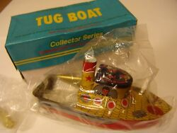 reproduction model of 1920 steam tug boat