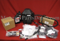 New OEM Mercury Verado Triple Engine Tilt Power Steering 24 Ft Rig Kit 892516K52