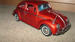 tin vw bandai japan volkswagen beetle car