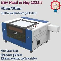 Usb Port 60w Co2 Laser Engraving Machine 500mm300mm With Red-dot Positioning
