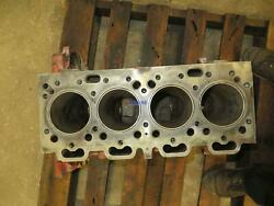 Perkins Pk 212 Engine Block Used Sleeves Still Installed 4 Cyl Gas