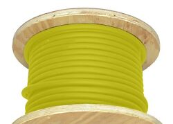 500and039 2/0 Awg Welding Cable Yellow Adaptable Outdoor American Wire